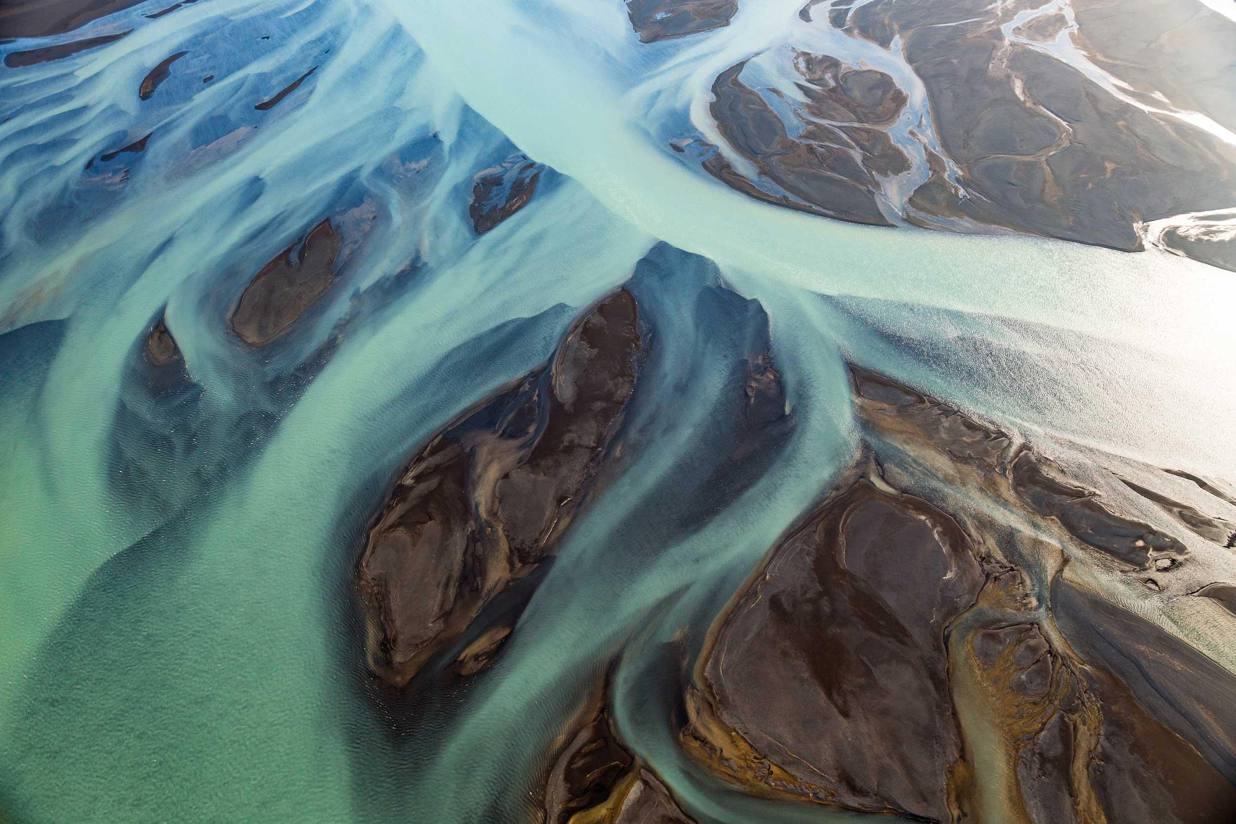 Blue Þjórsá River