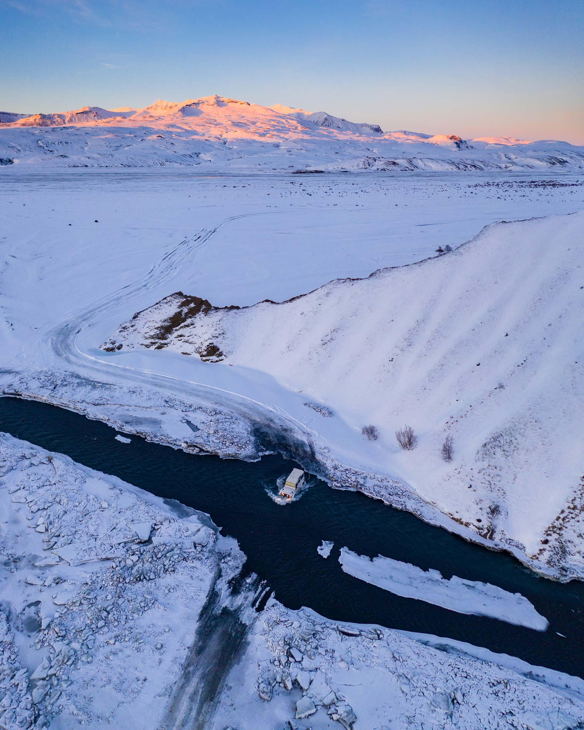 Snowy Þórsmörk