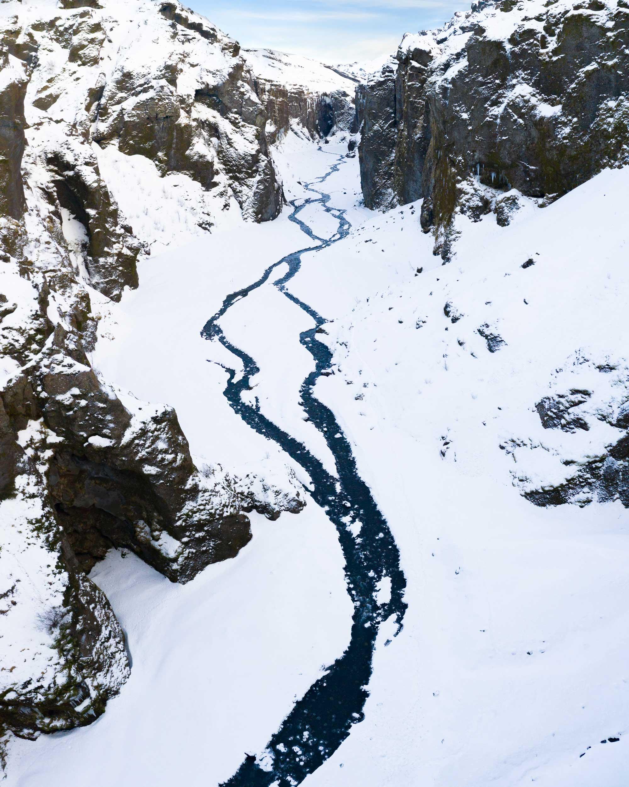 Winter at Stakkholtsgjá