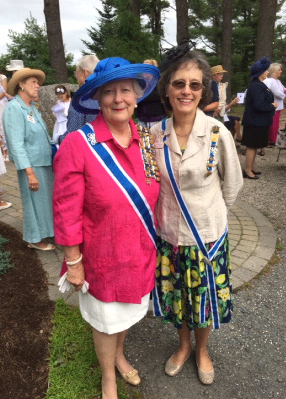 Cathedral of the Pines 2018 - Vice President General, Ann Taylor Schaeffer & DC State Regent, Marcia Guzauskas