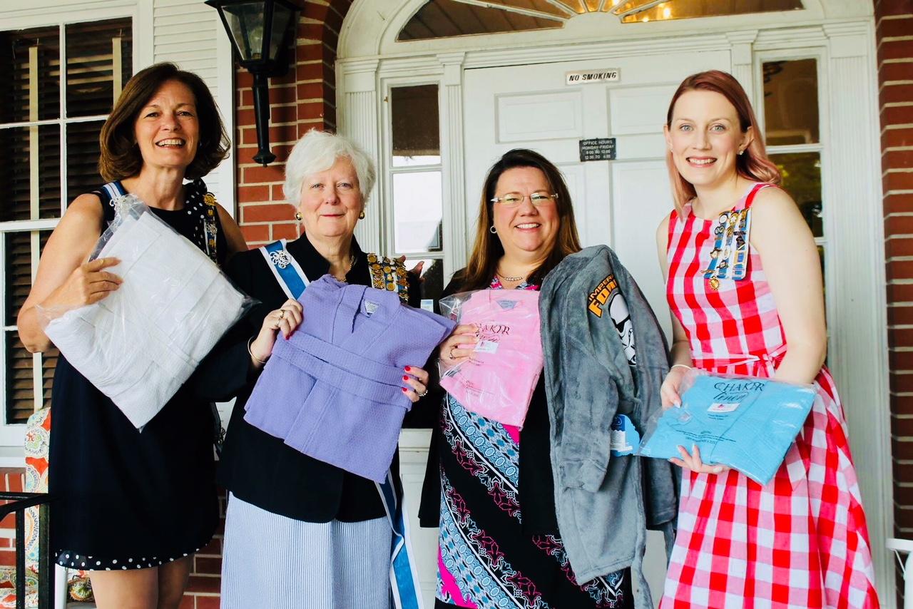 Donating wish-list items to Tamassee DAR School