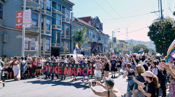 Click above for a video about the Dyke March Oral History Project.