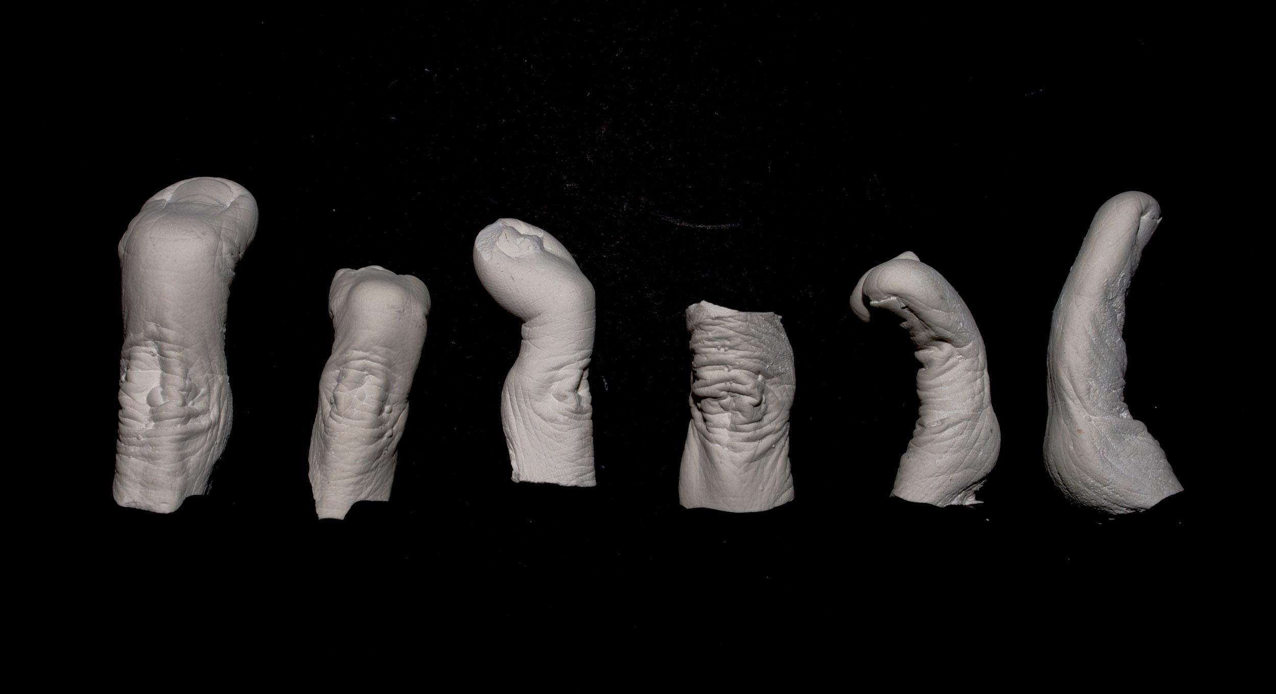 Wendy Richmond hand sculpture fingers archaeology