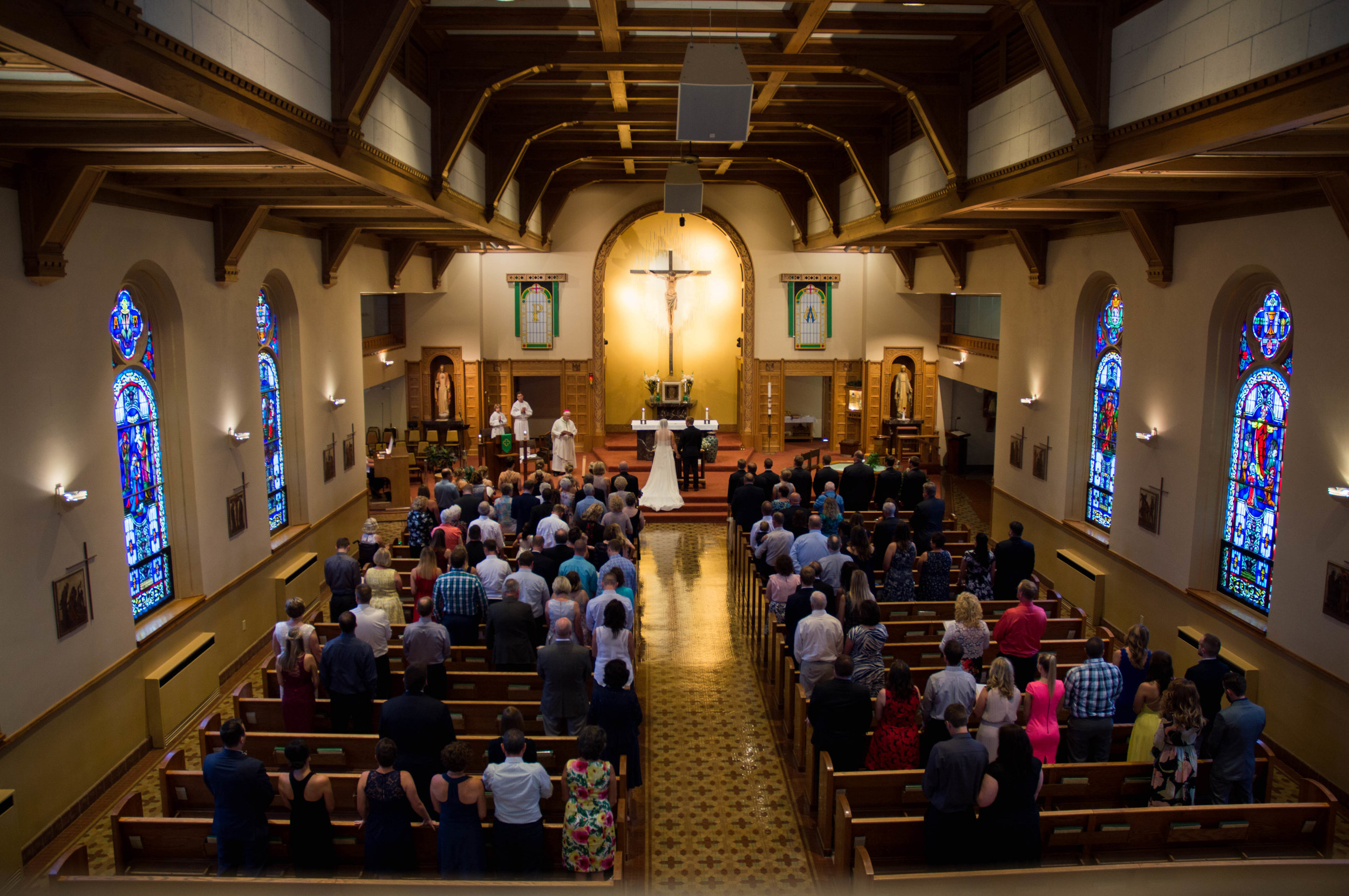 St. Mark's, Menomonee Falls, Wisconsin Wedding