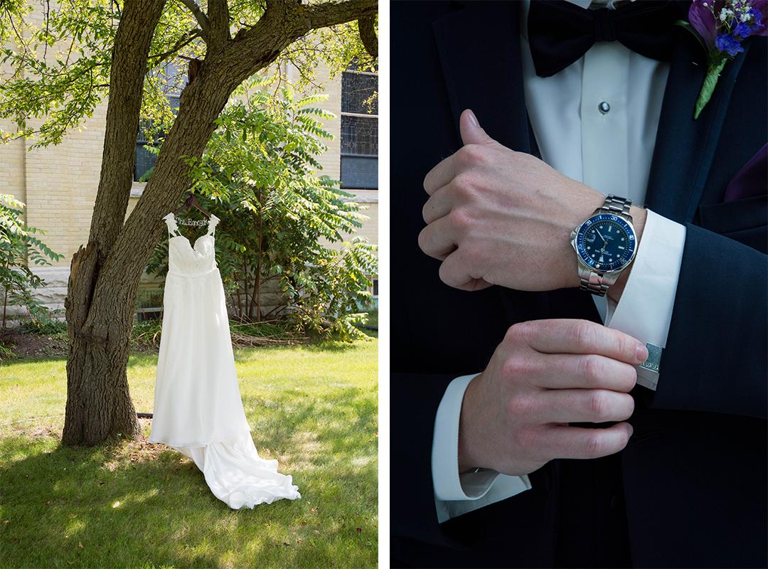 Menomonee Falls Wedding, St. Mark's, Wisconsin Wedding Photographer