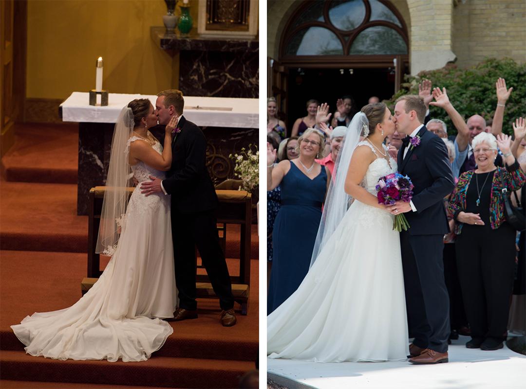 Wisconsin Wedding, Menomonee Falls Wedding, St. Mark's