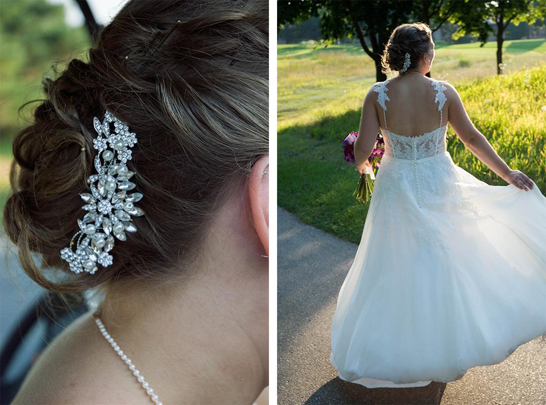 Sunset Wedding Photos, Wisconsin Wedding Photographer, The Legends in Hartland