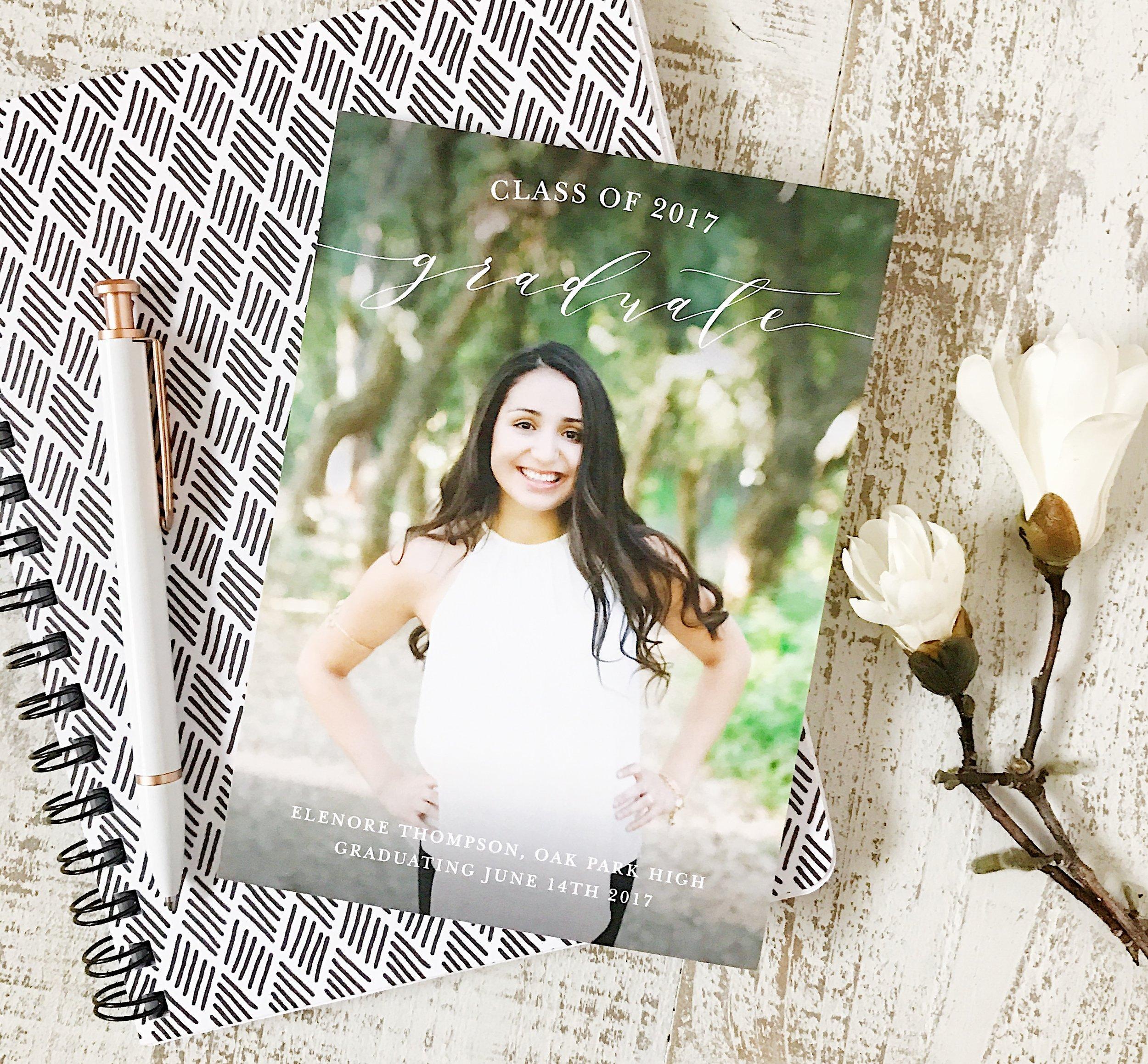 Basic Invite, Sponsored Post, Ad, Vanessa Jordan Seniors, Senior Photographer, Graduation Session