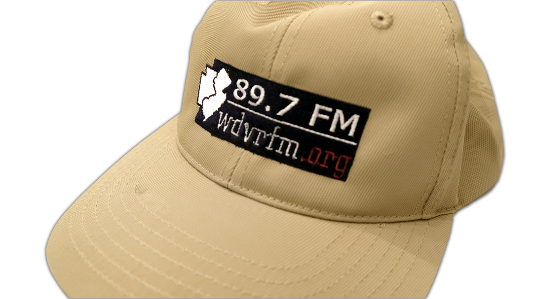 Cap, Structured Adjustable, Khaki with Embroidered Logo