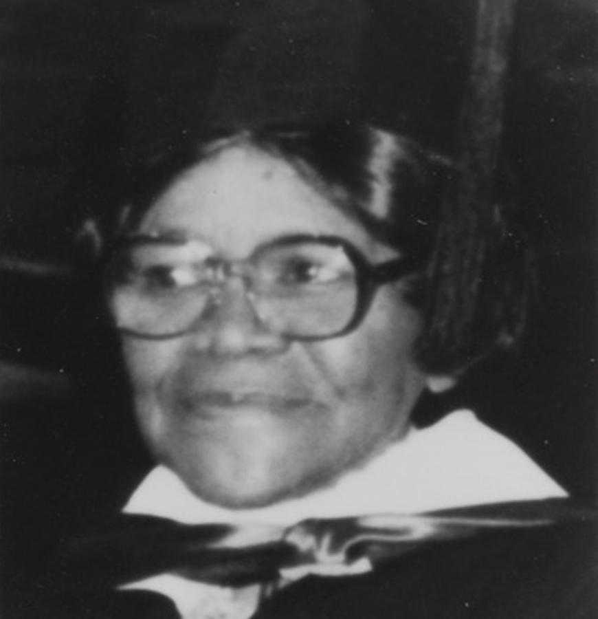 Alice Julia Jordan - Former Secretary-Treasurer, 1976 to 1990