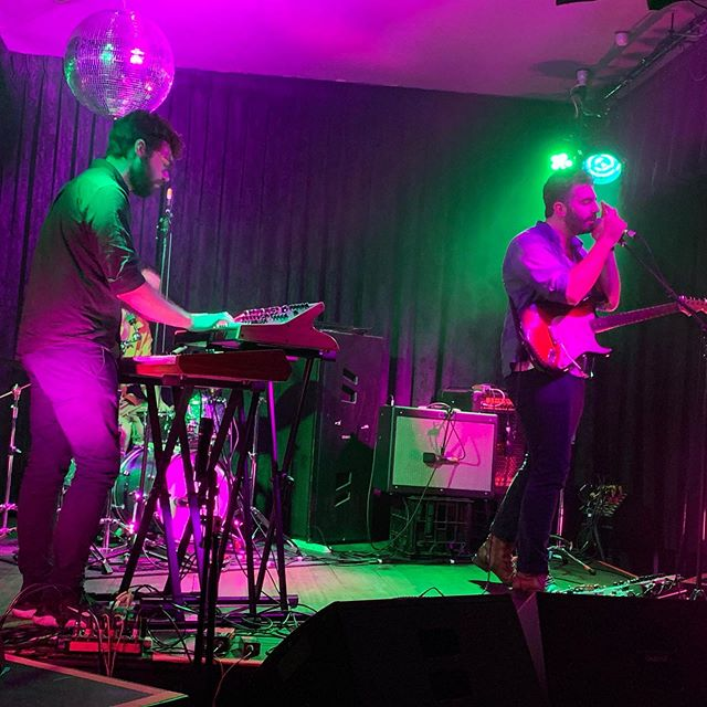 Cheers to everyone for the huge night, especially @jinjellic & @jebahlmusic. Massive thanks to everyone that rocked up and made it a fun time . . #livemusic #melbournemusic #newmusic #juno6 #sub37 #fender #gig #altrock #synthpop #indierock #electronicmusic