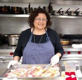 Passover 2016-Susan Barocas working in the White House Kitchen 4 comp - Susan Barocas.jpg