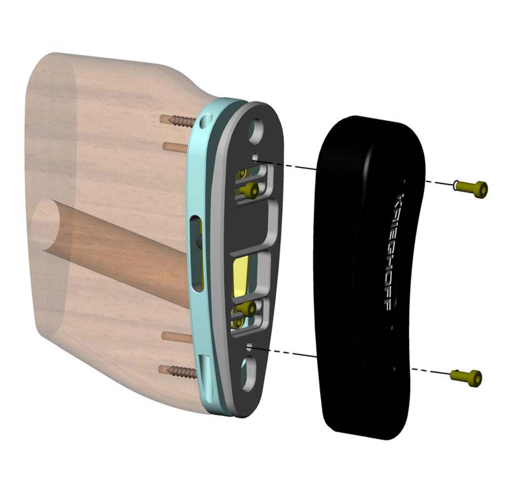 Krieghoff Adjustable Butt Pad