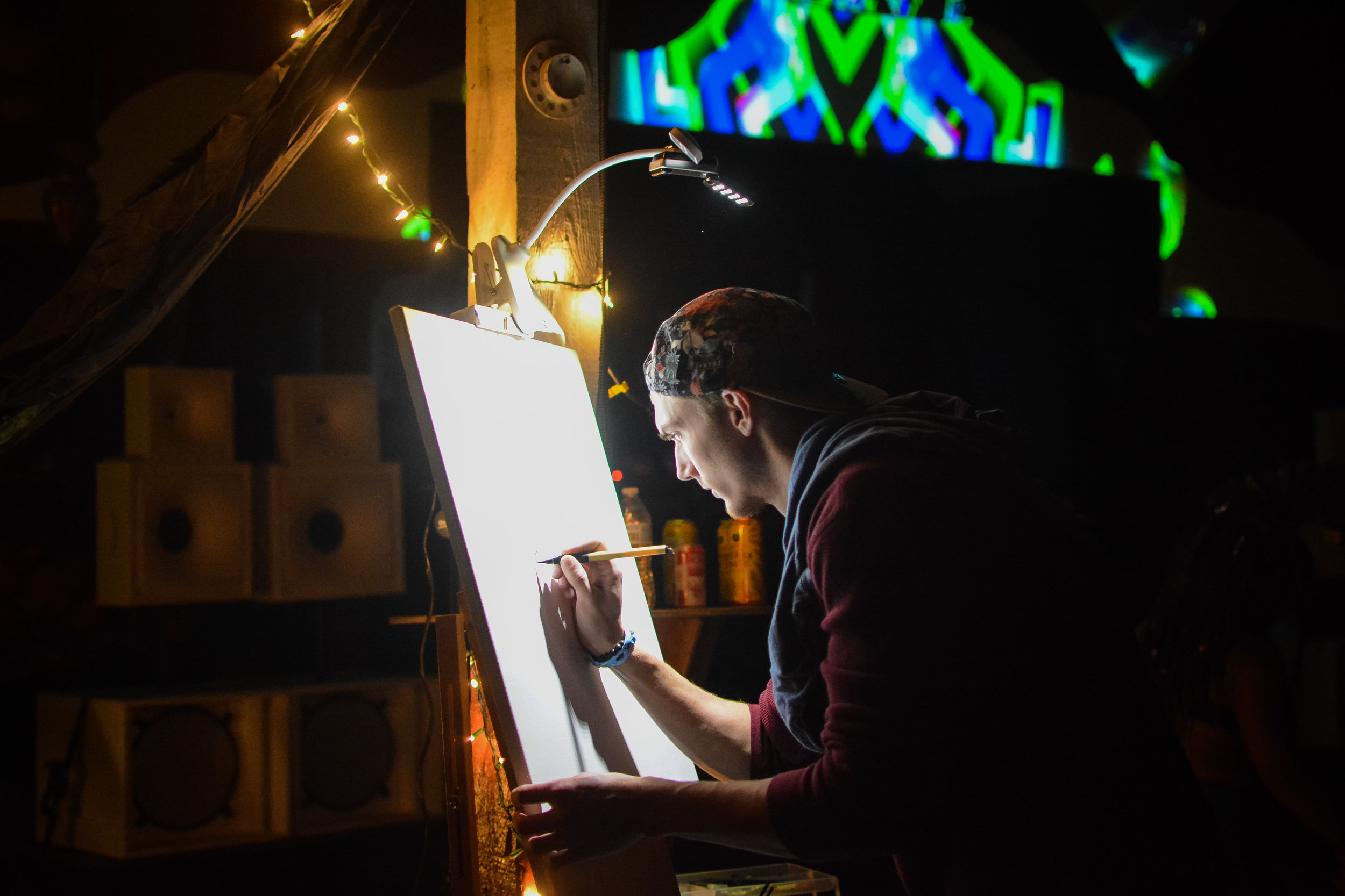 Jacob Mast visual artists beauty in the backyard 2019 festival dmv festivals near me painting live art live painting visionary art installations events dc maryland md delaware de va virginia pa pennsylvania
