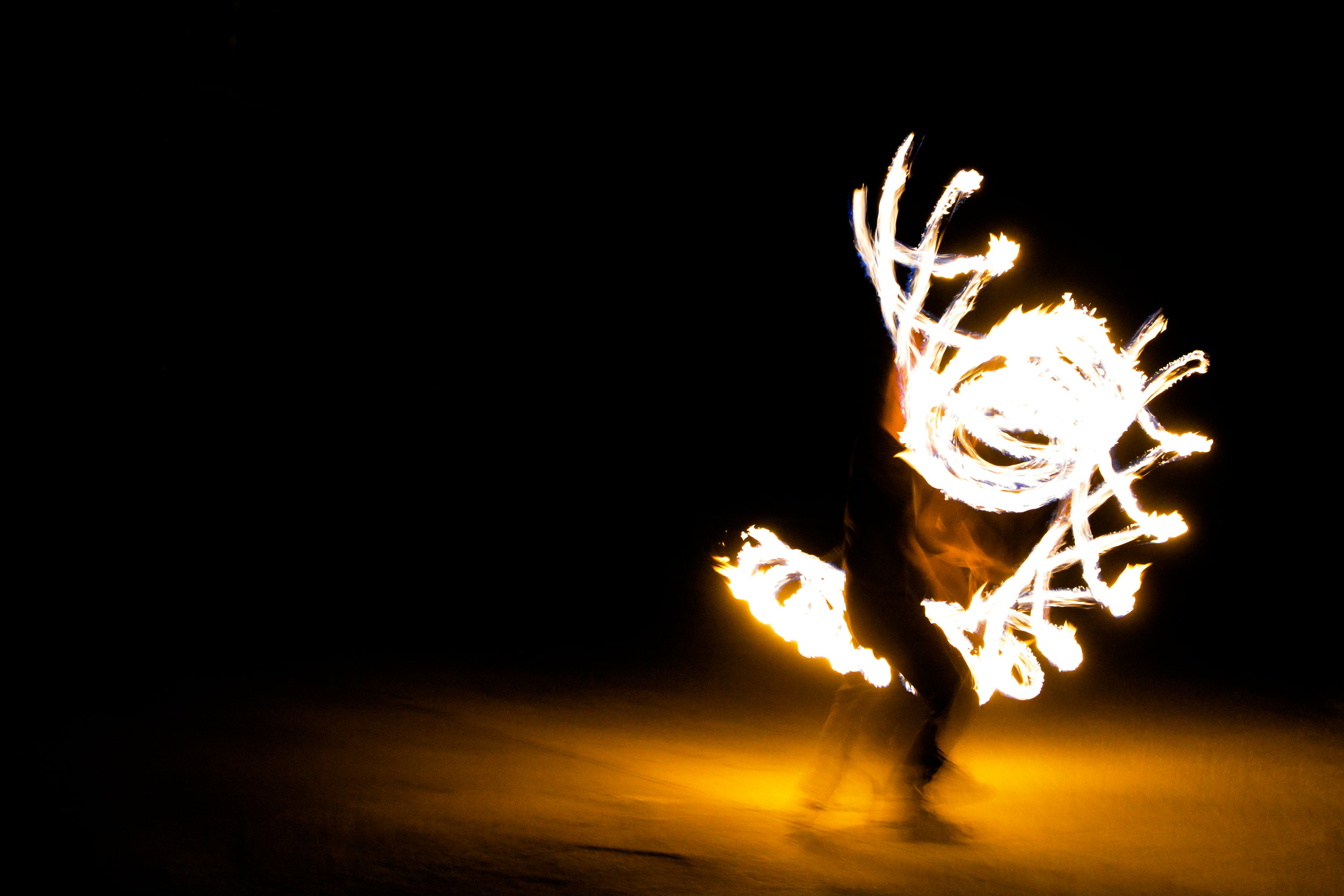 performing artists beauty in the backyard fire spinning poi theater festival opportunity