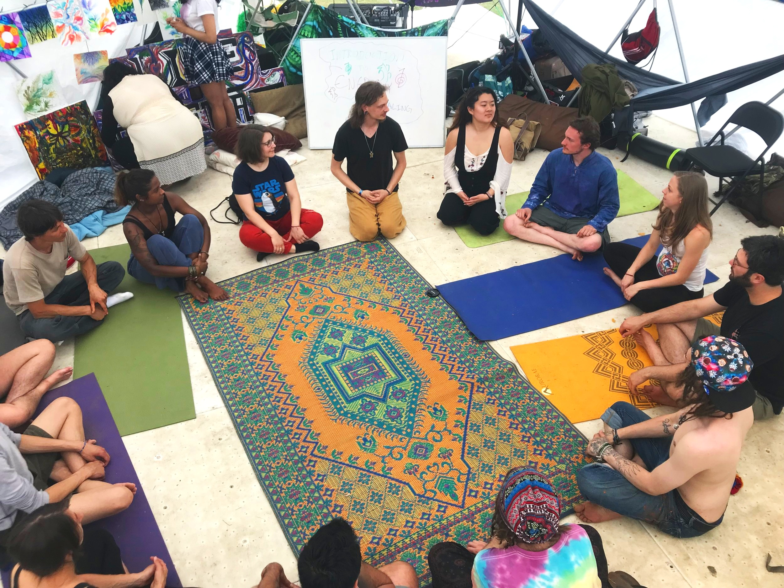 workshops beauty in the backyard applications playshop altruce crystal consciousness energy healing catharsis on the mall makers camp