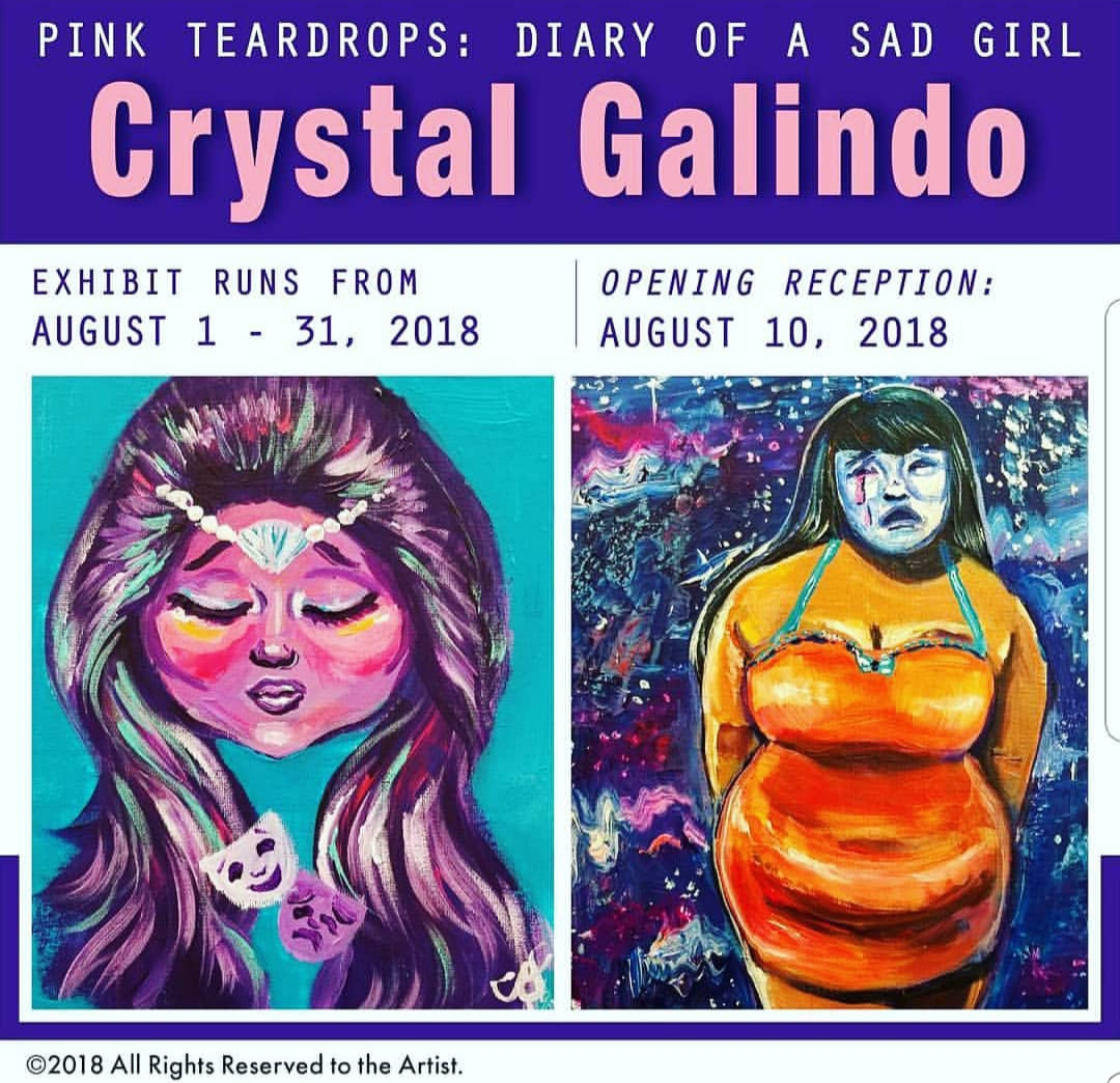 Pink Teardrops: Diary of a Sad Girl (Solo)