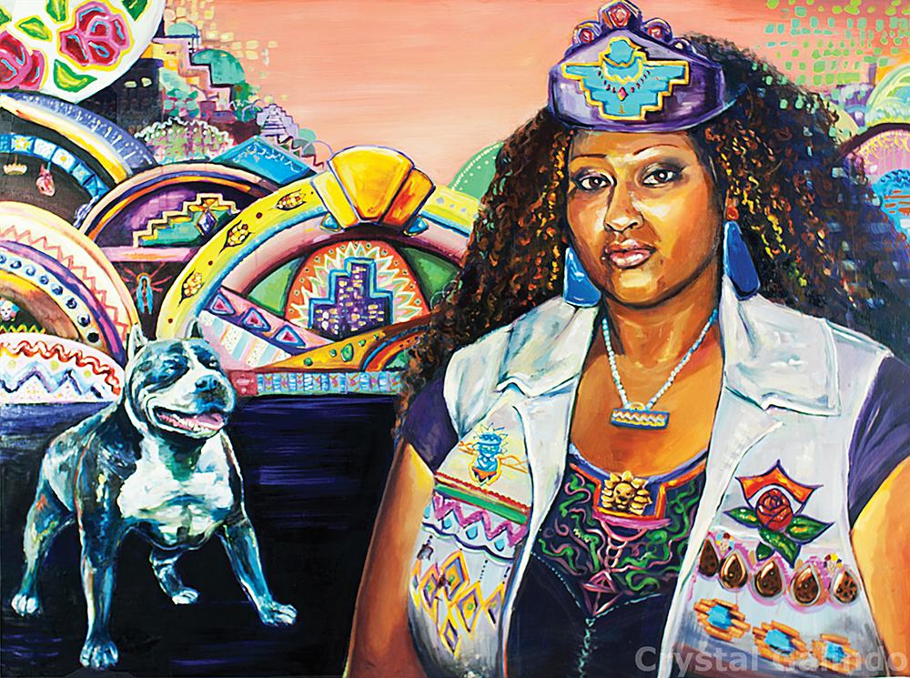 BlackXicana Queen