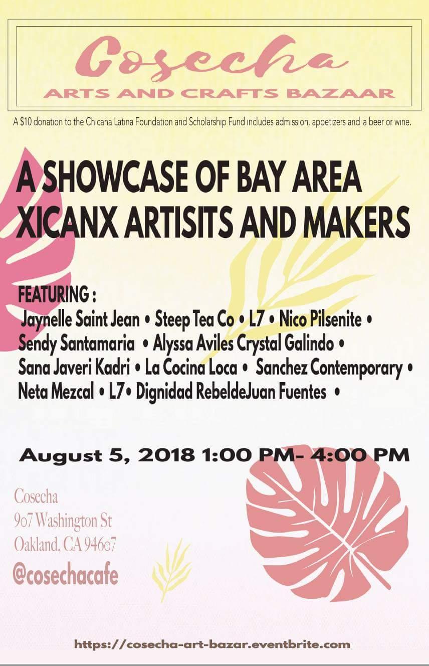 Cosecha Arts & Crafts Bazaar (Group) Cosecha Cafe Oakland CA USA August 2018
