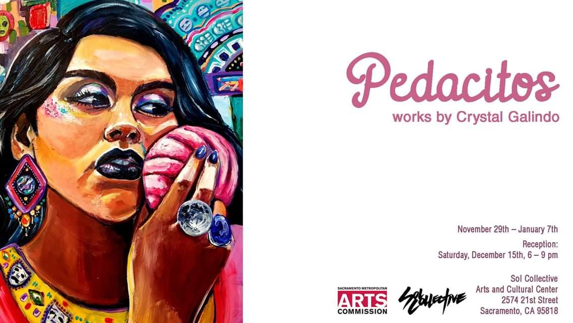 Pedacitos: works by Crystal Galindo