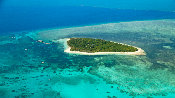 Discover world heritage sites like the Great Barrier Reef -