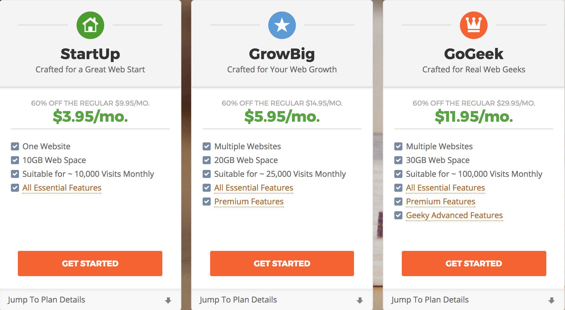 Struggling to understand web hosting for your blog? Unsure if Bluehost or Siteground is the better option? Check out this simplified overview of site hosting along with a side by side comparison of Bluehost and Siteground's features!
