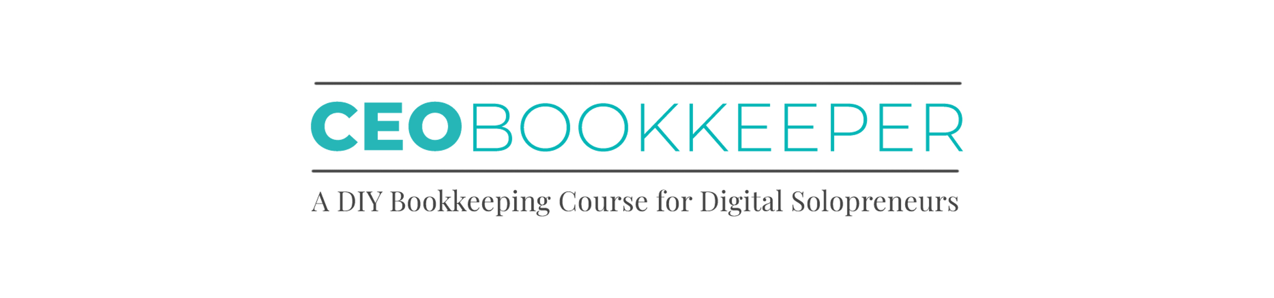 CEO Bookkeeper: A DIY Bookkeeping Course for Digital Solopreneurs