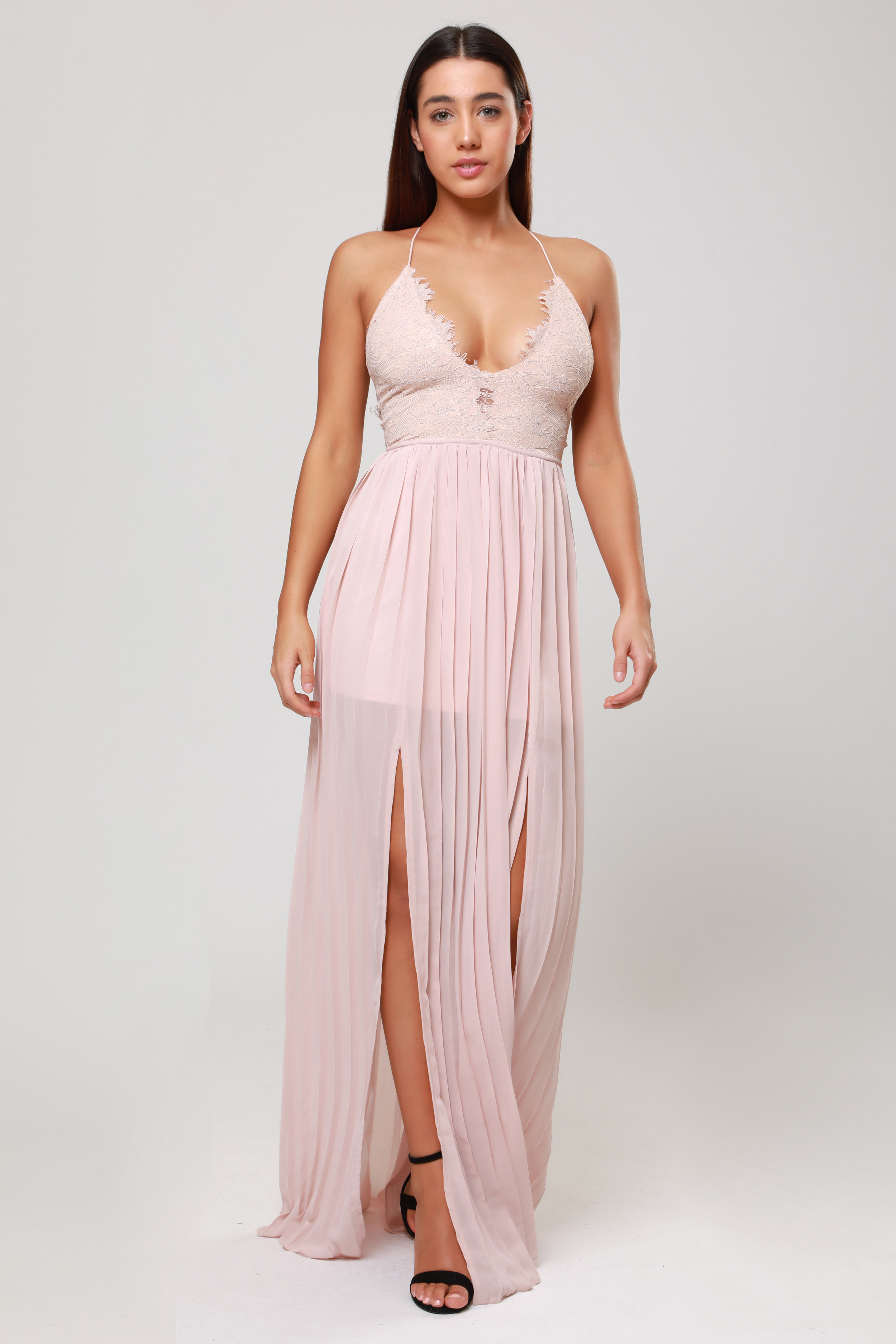 Maxi Dress with  Cup Detail   £70.00