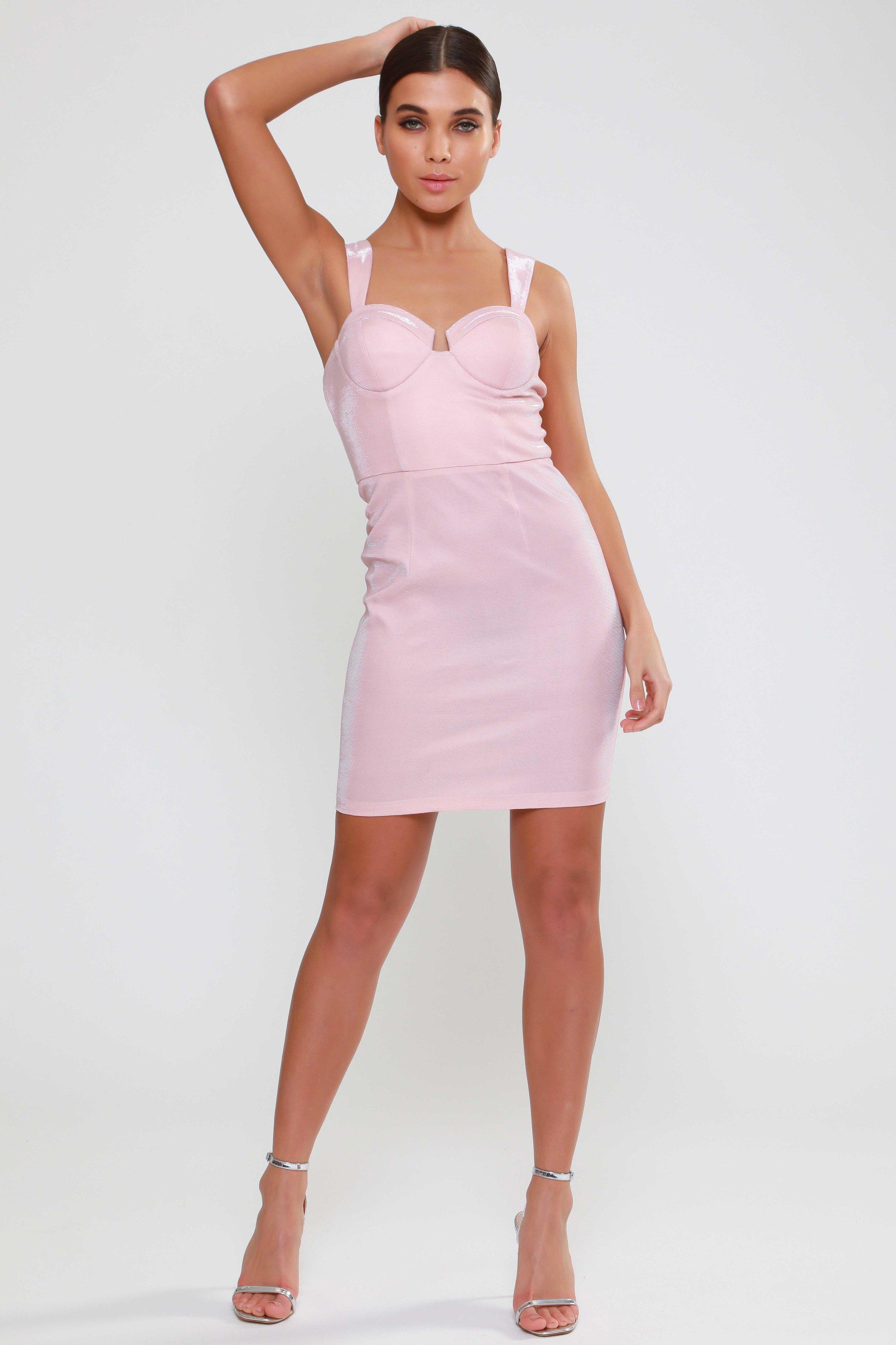 Metallic Bodycon  Mini Dress   £65.00