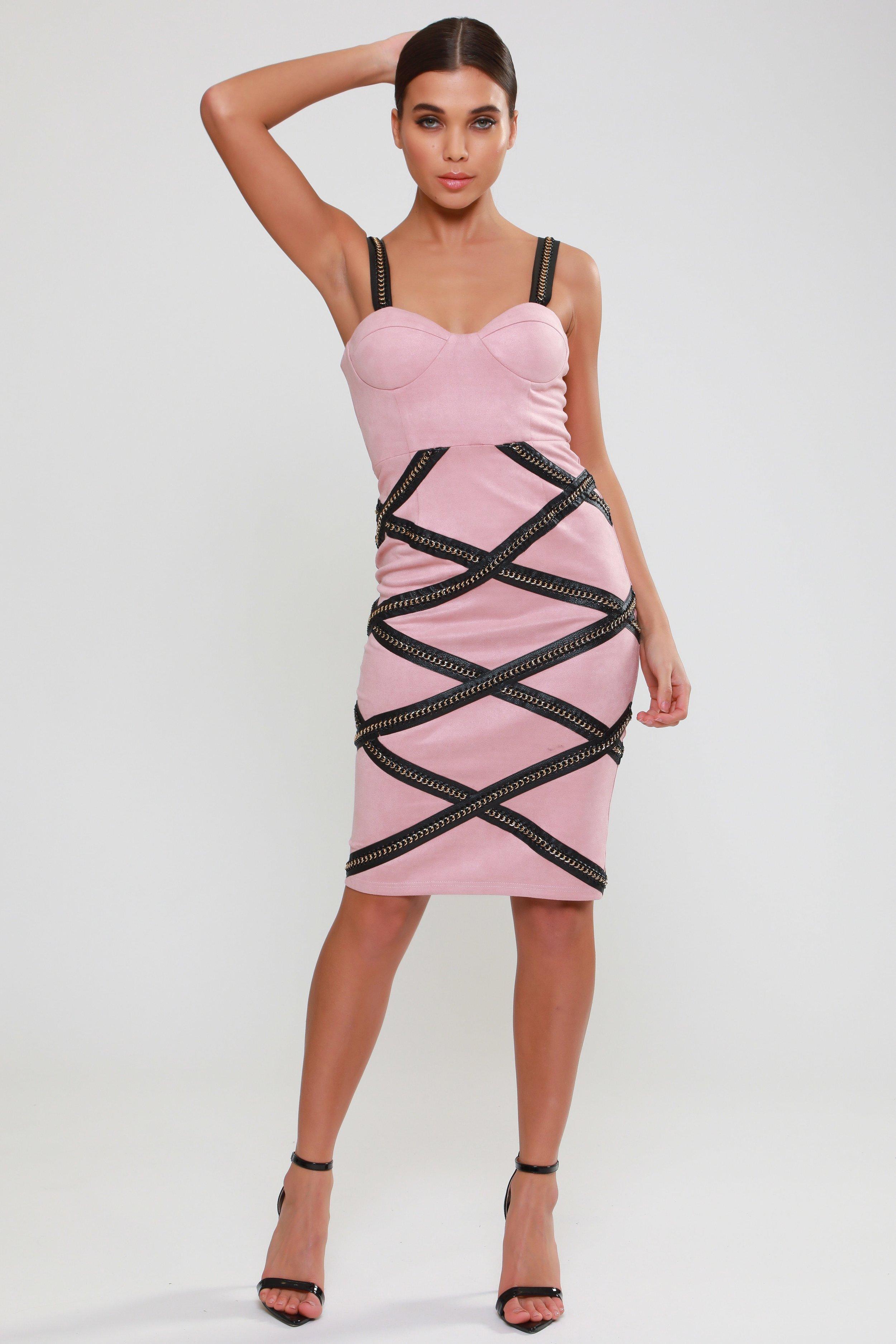 Eyelash Lace Double      Split Maxi Dress   £105.00