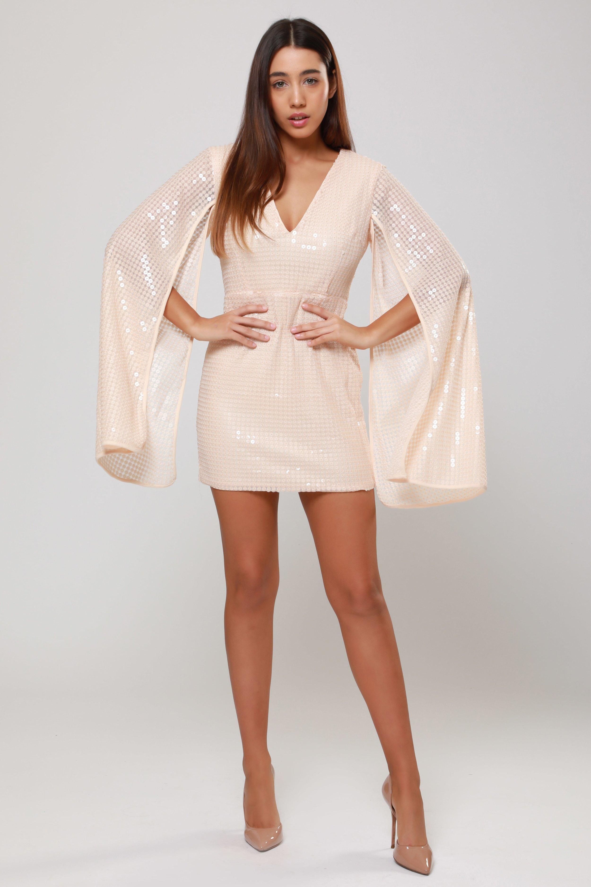 Liquid Sequin  Mini Dress   £68.00