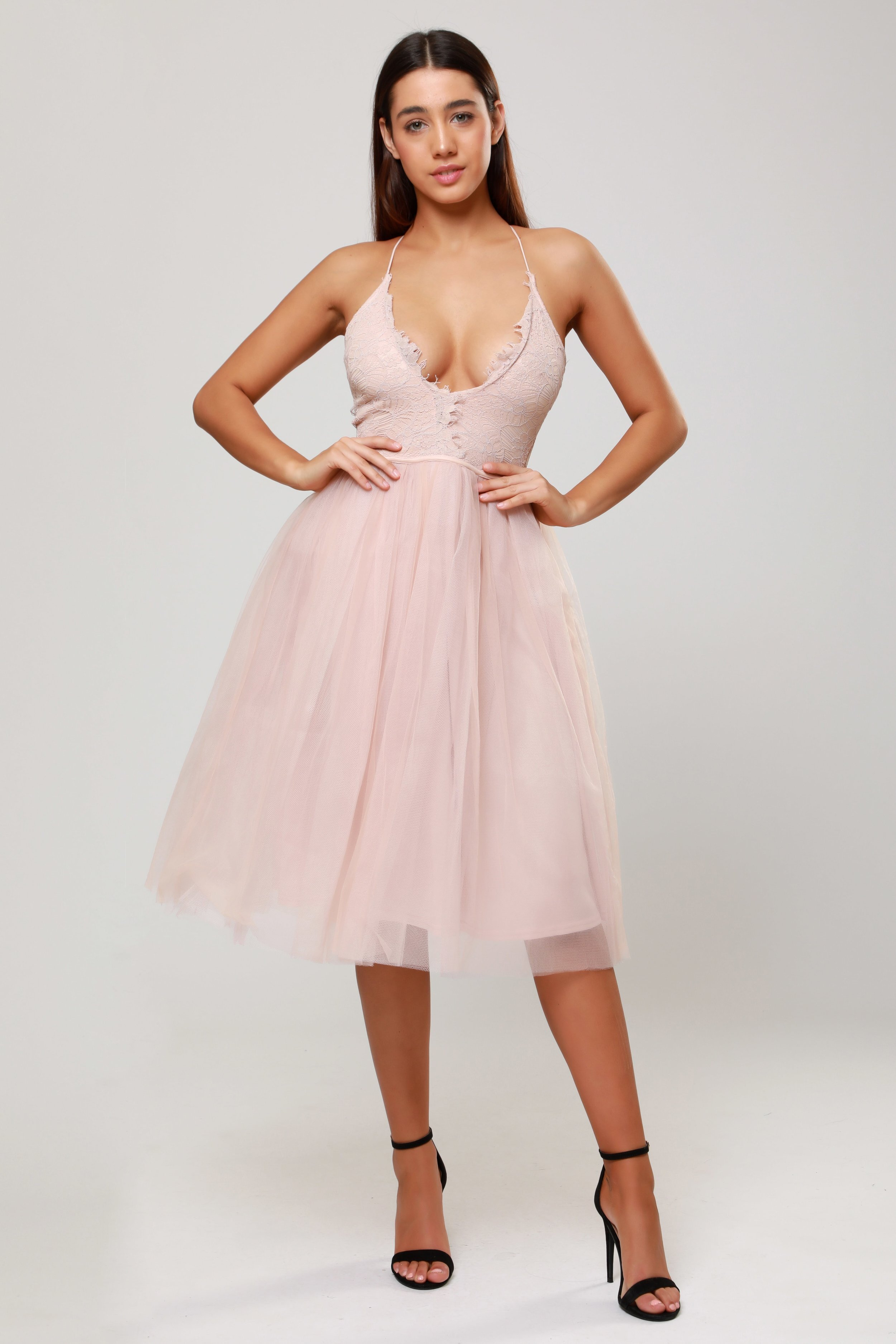 Cami Strap  Tulle Dress   £75.00