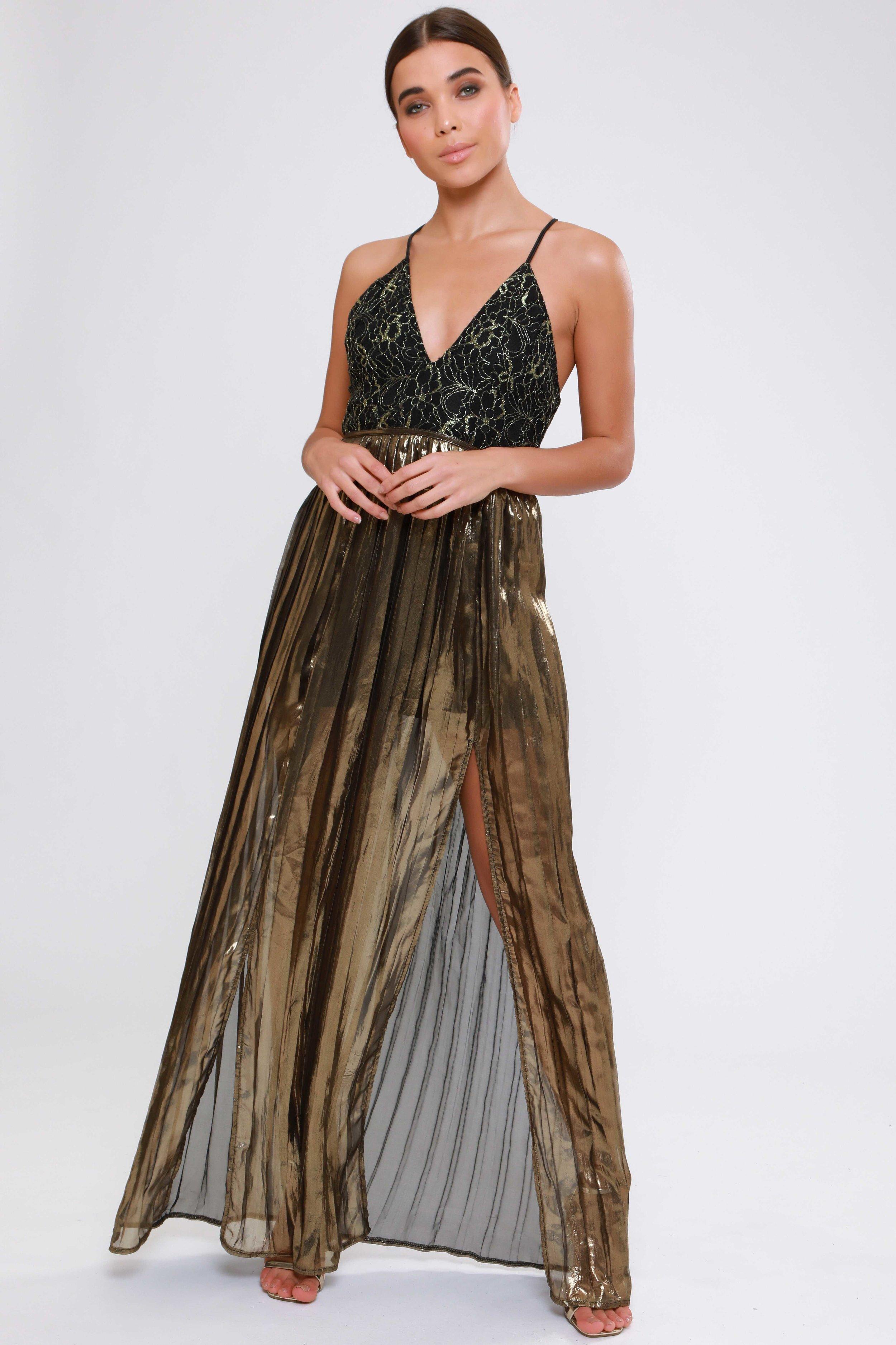 Metallic Lace  Tutu Dress   £69.00