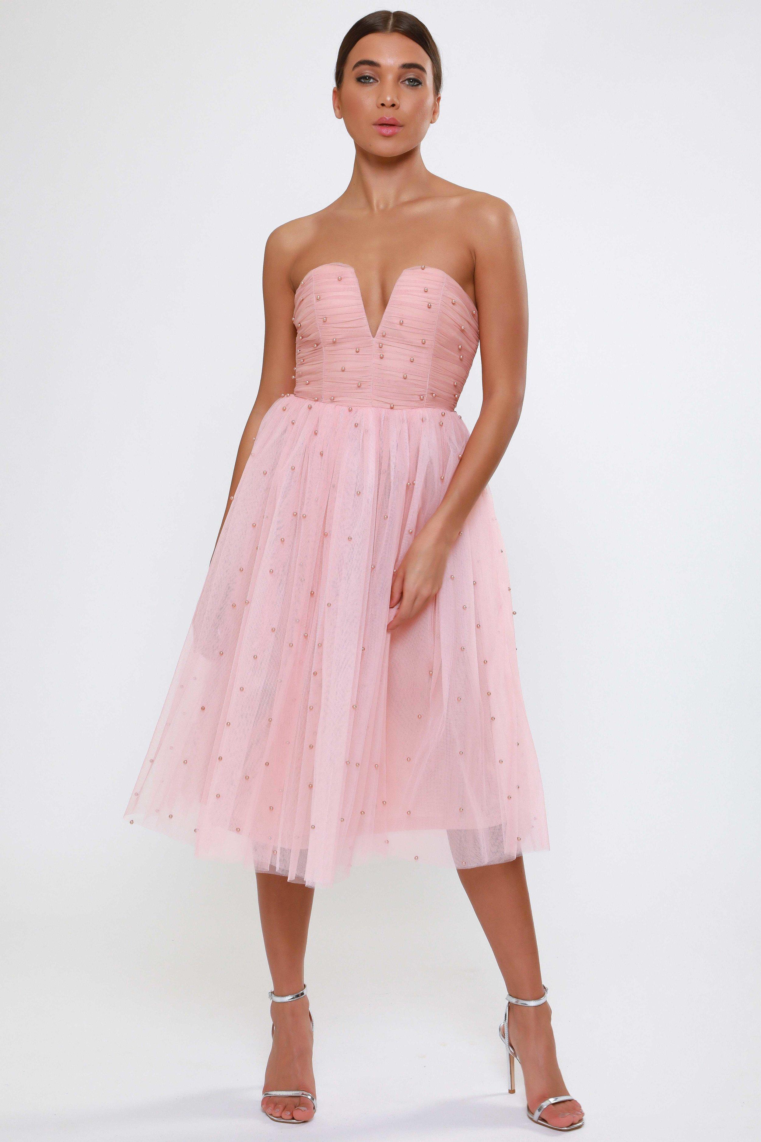 Pearl Embellished  Tutu Dress   £68.00