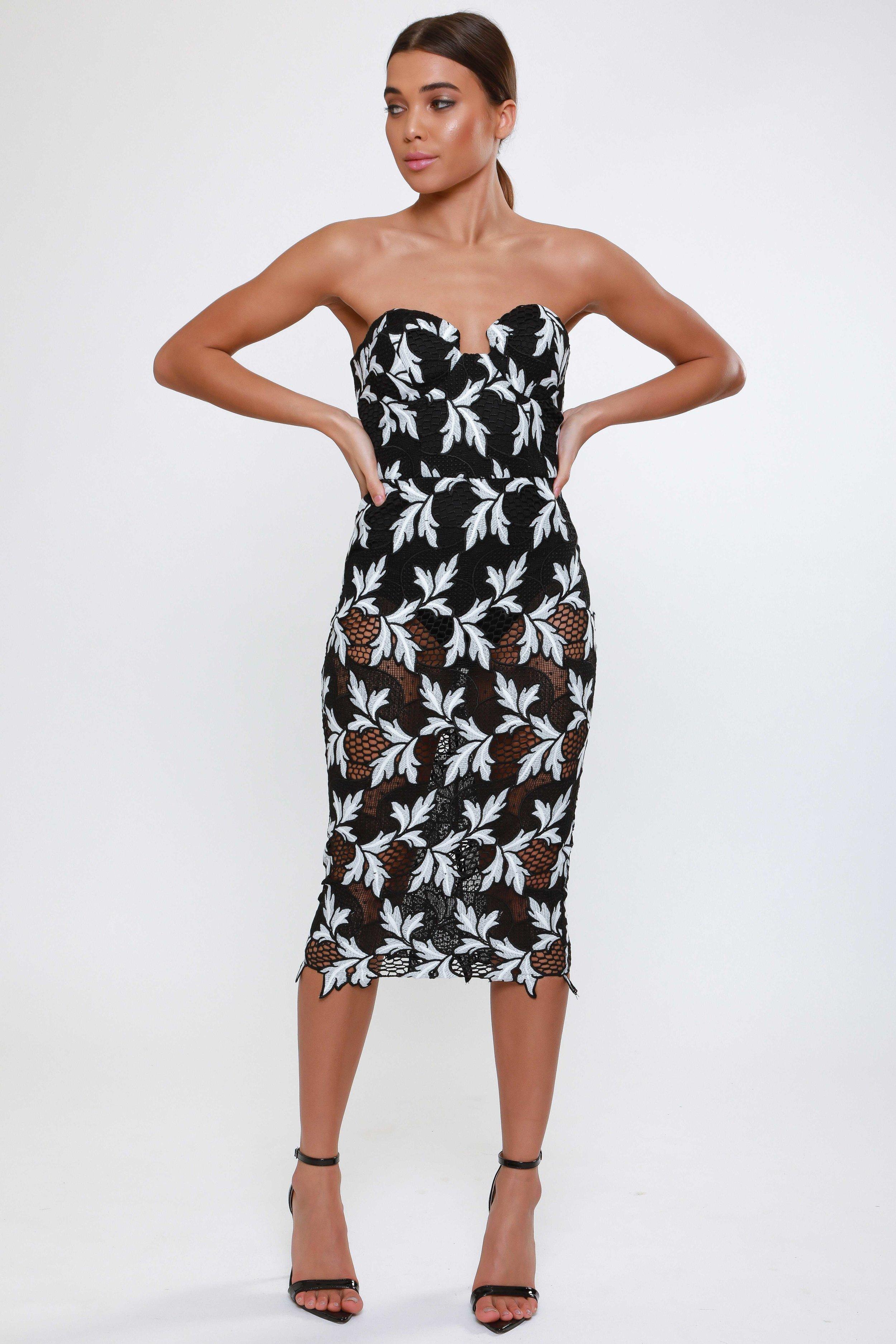 Crochet Lace  Midi Dress   £65.00