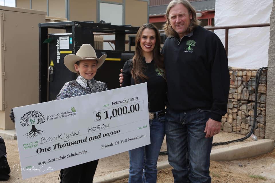 Brooklyn Hogan - $1,000 Walk/Trot Scholarship Recipient