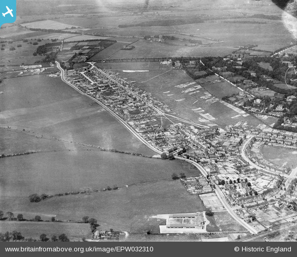 Stanmore School, Stanmore Lane and Battery Hill, Winchester, June 1930