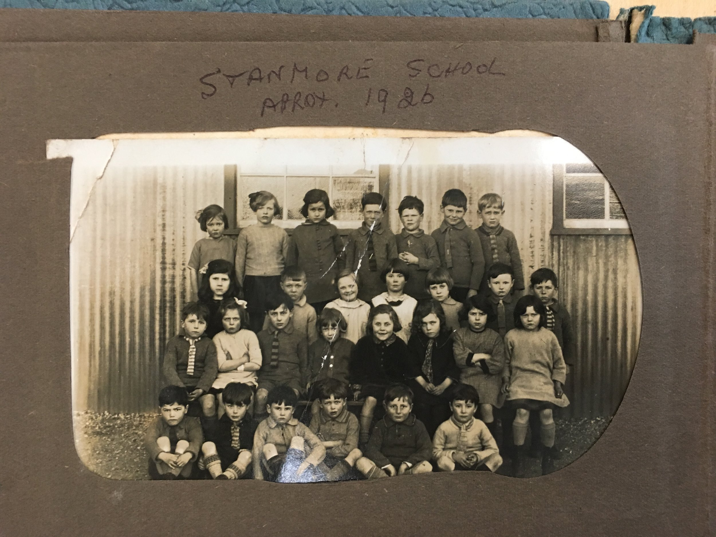 Pupils at Stanmore School, Winchester circa 1926  Hampshire Record Office: 134A13W/B1