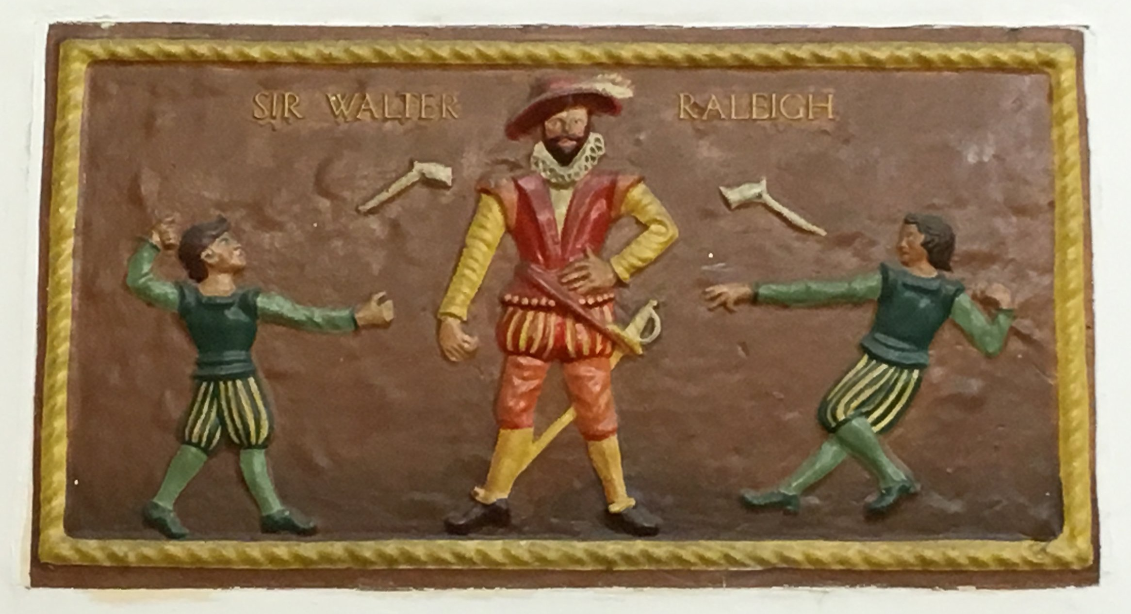 Sir Walter Raleigh, Stanmore Primary School