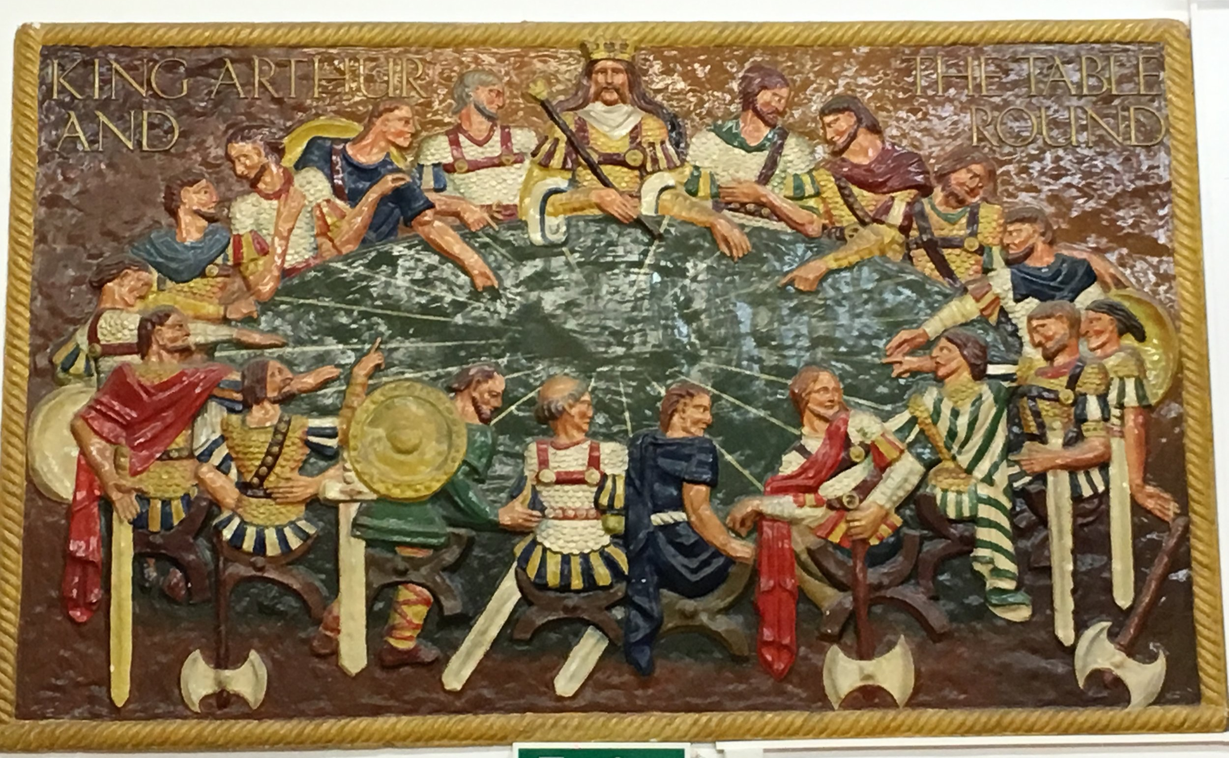King Arthur and the round table, Stanmore Primary School