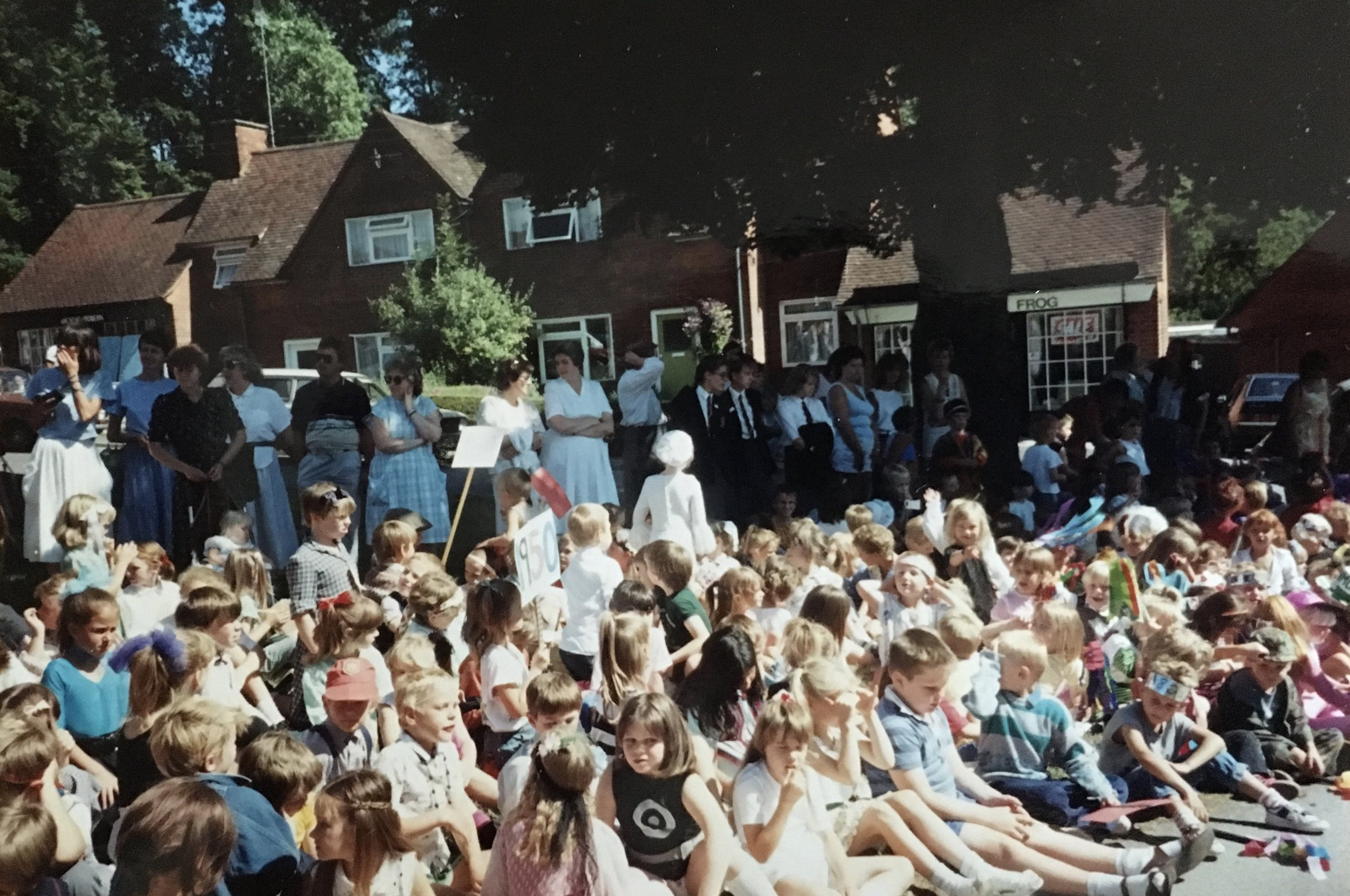 Stanmore Jubilee Day, 14 July 1989 Cromwell Crescent - Tree planting