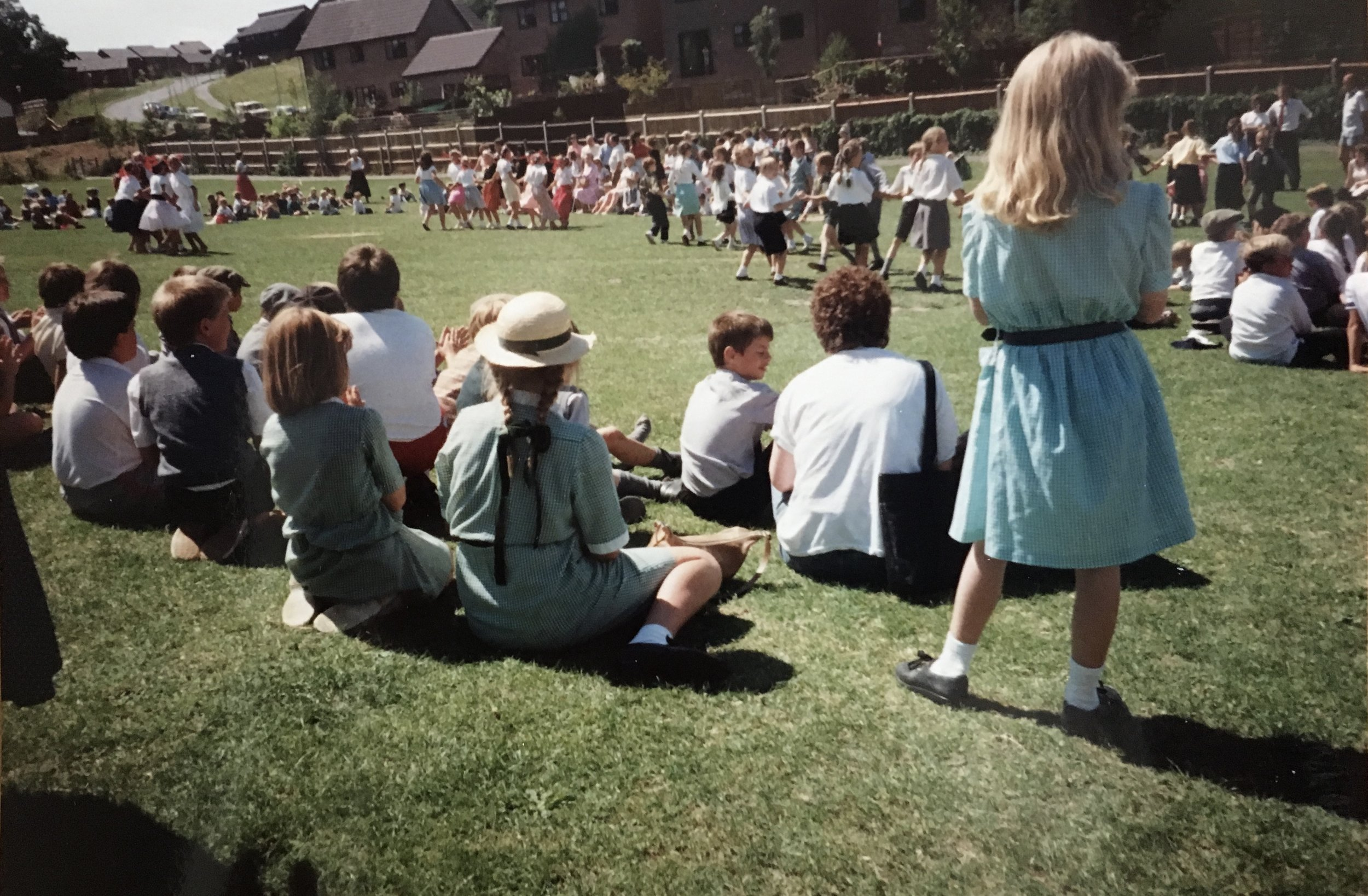 Stanmore Jubilee Day, 14 July 1989 Country Dancing on the school field