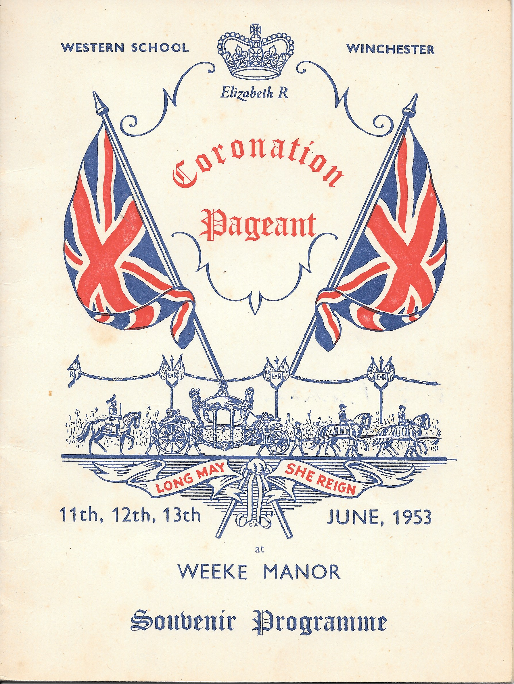 Coronation Pageant Souvenir Programme June 153