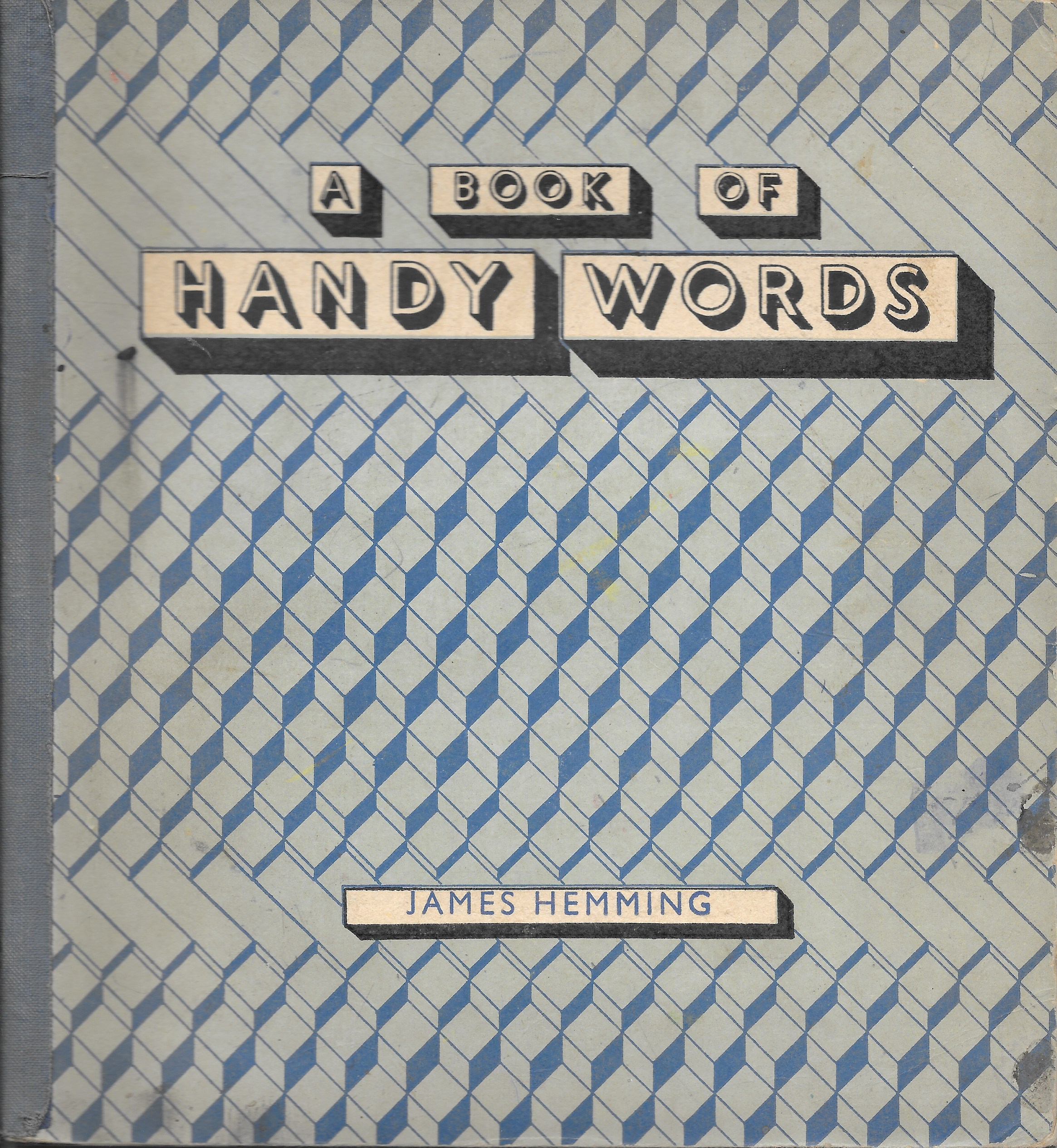 A book of handy words by James Hemming