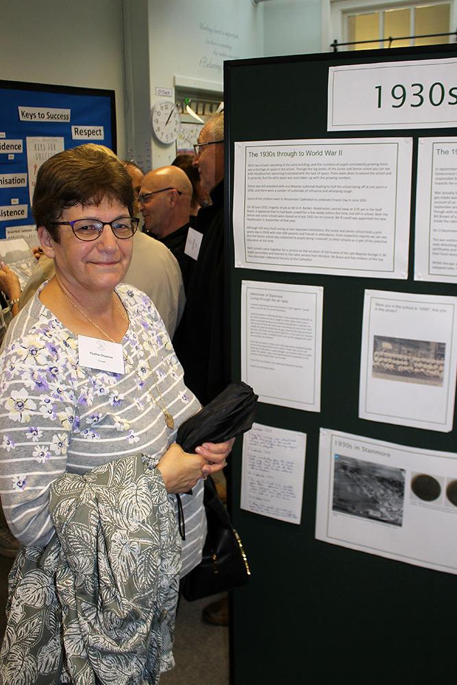 Ex-pupil: Pauline Chapman