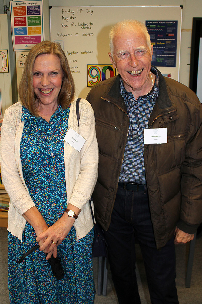 Ex-pupils: Lyn Caplen & David Yaldren