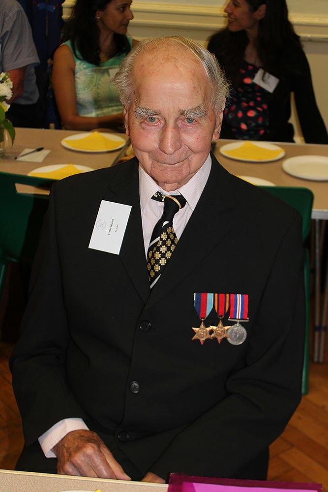 Ex-pupil: Ernie Nunn