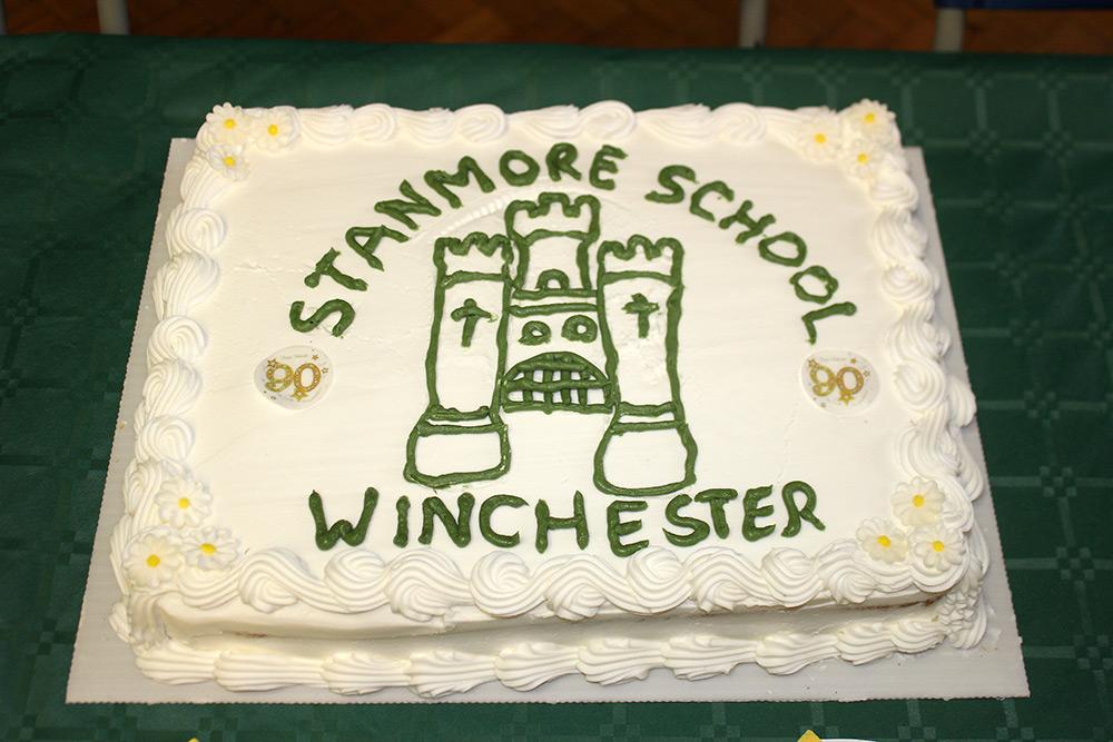 90th anniversary cake