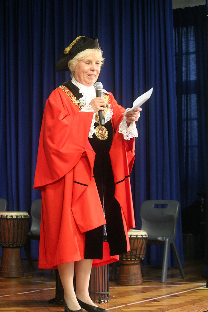 The Mayor of Winchester, Councillor Eleanor Bell