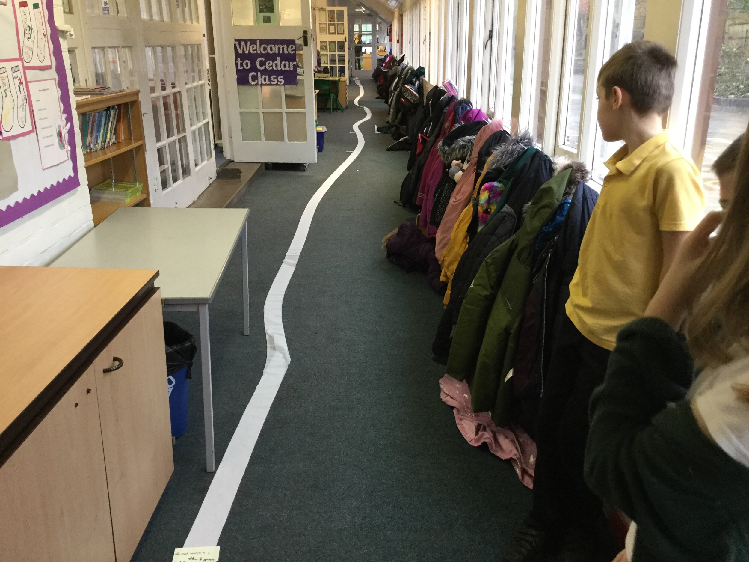 Toilet Roll Timeline Stanmore Primary Winchester